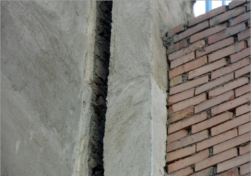 شکاف دیوار - 01