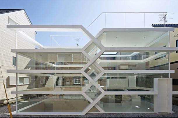 شفافیت در طراحی خانه s