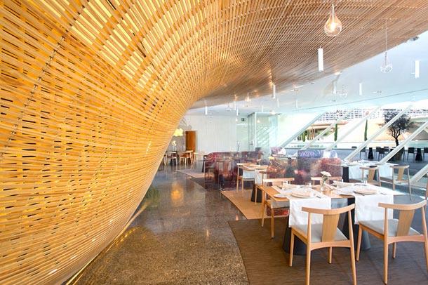 فضاسازی زیبای رستوران در اسپانیا