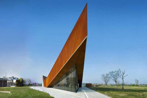 طراحی منحصر به فرد گالری و مرکز توریستی vanke triple