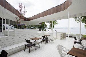 معماری زیبای رستوران Noa در استونی