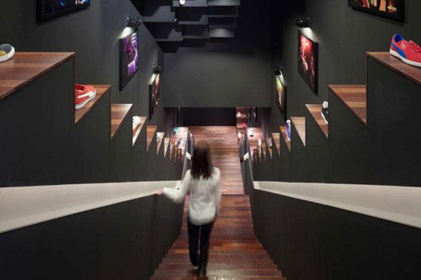 طراحی زیبای فروشگاه puma در توکیو
