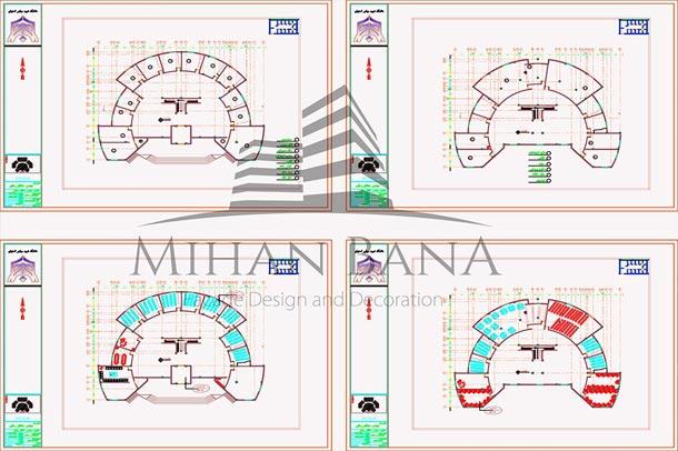 دانلود نقشه کامل هنرستان همراه با تمام جزییات اجرایی