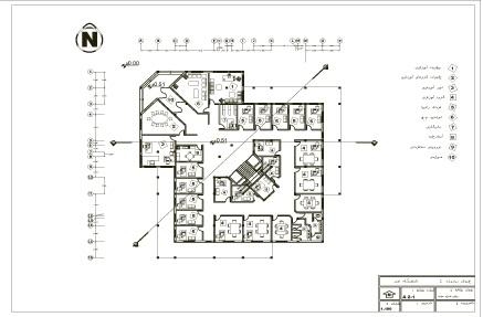 دانلود پروژه کامل طراحی فنی دانشگاه هنر همراه با جزئیات اجرایی