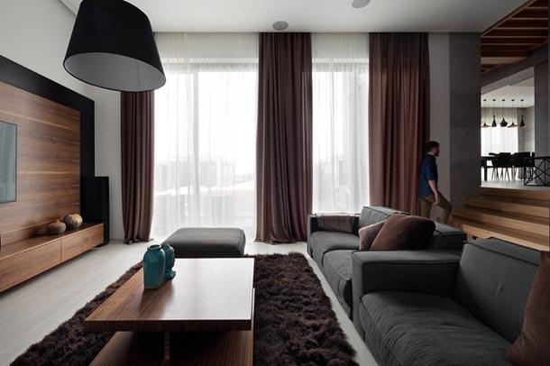 معماری داخلی با بافت گرم