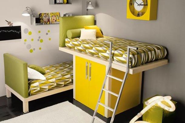 اتاق خواب های 2تخته برای اسایش کودکانتان
