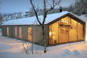 طراحی بسیارزیبای کلبه ای در نروژ
