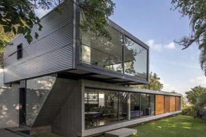ترکیبی از شیشه وبتن در خانهLP