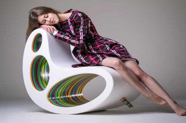 خلاقیت درمبل با استفاده از فضاهای مثبت ومنفی
