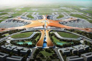 طراحی زیبای فرودگاه توسط زاهاحدید