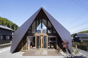 معماری مدرن ومتفاوت درخانه اوریگامی