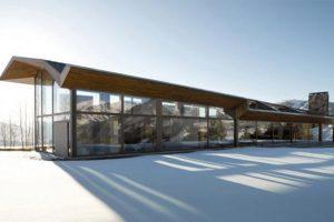 معماری فوق العاده در ویلایی کوهستانی