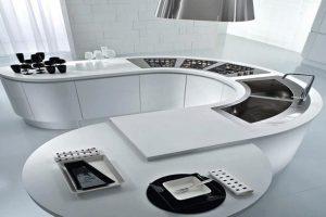 آشپزخانه مدرن به سبک جزیره ای