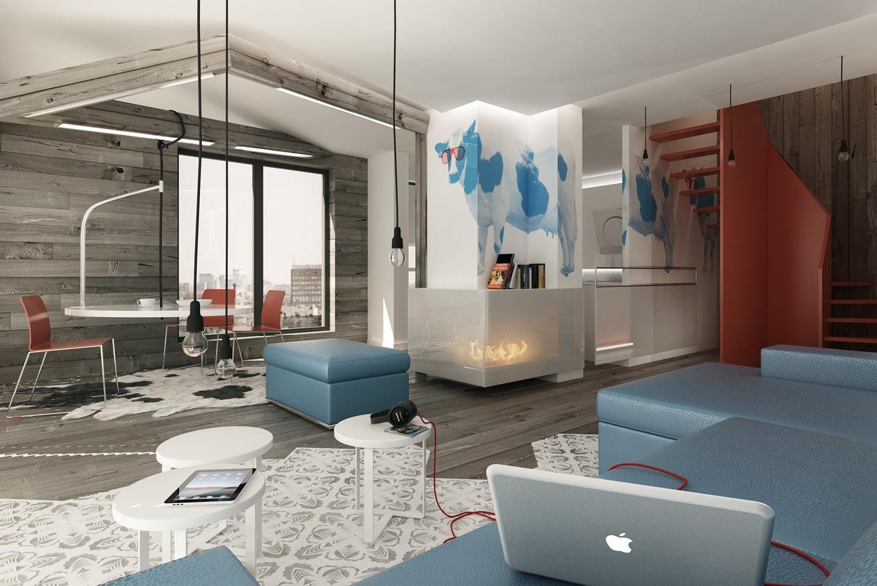 Blue-Brown-white-decor-scheme