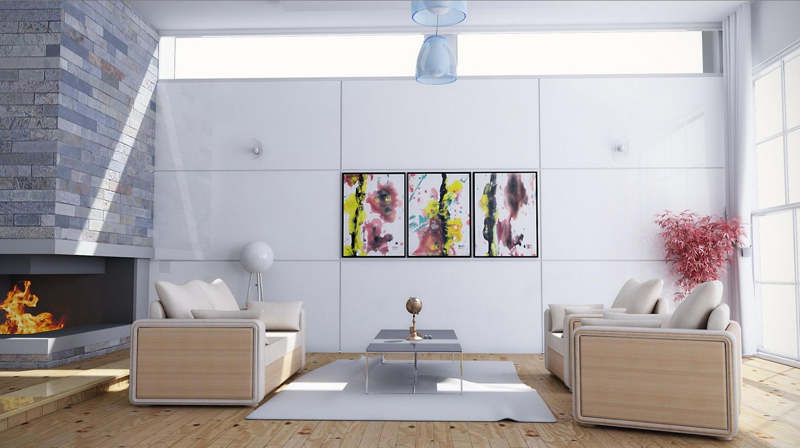 Feminine-living-room-decor-scheme