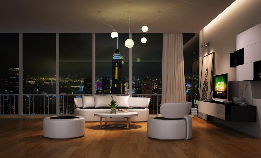 Modern-white-living-room-furniture