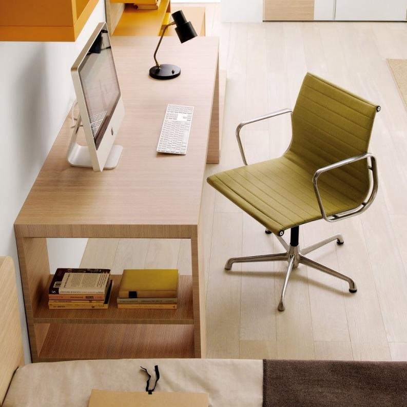 Orange-Green-home-office