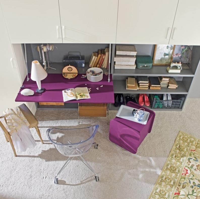 Purple-desk