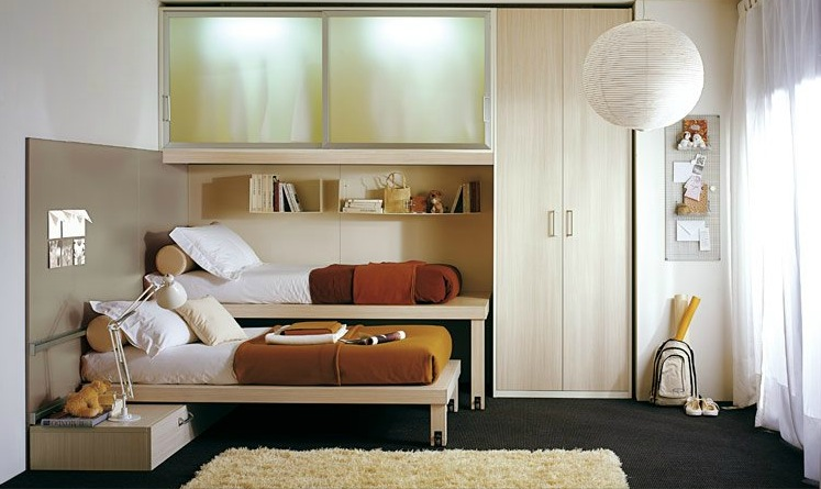 shared-kids-room-in-brown-and-white