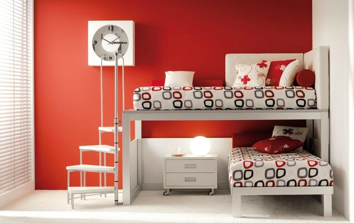 shared-kids-room-in-red-and-white
