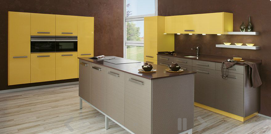 yellow-modern-kitchen