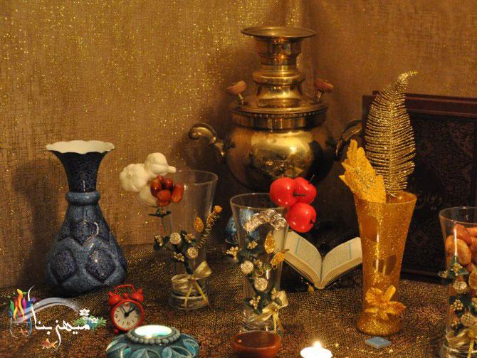 آموزش تزئین سفره هفت سین سنتی