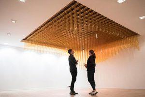 طراحی زیبای سقف متحرک