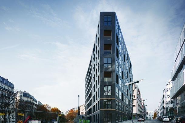 طراحی کاربردی آپارتمان 40 واحدی پاریس