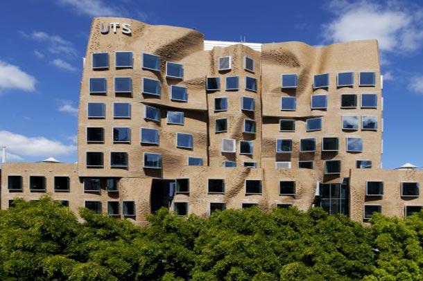 اولین پروژه فرانک گهری در استرالیا افتتاح شد ; دانشگاه فناوری سیدنی