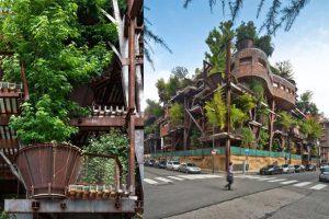 معماری سبز ایده ای برای طراحی مجموعه مسکونی