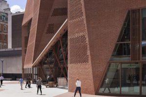 معماری منحصر به فرد مرکز دانشجویی