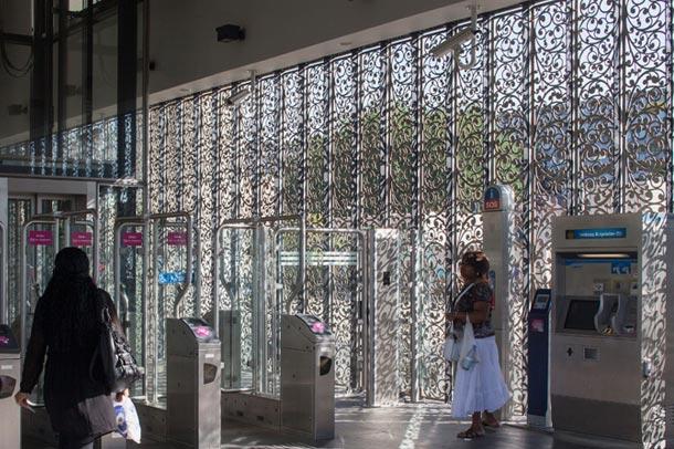 توسعهی ایستگاه مترویی قدیمی در حومه آمستردام