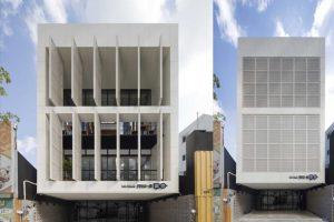 طراحی فوق العاده ساختمانMu-A