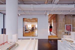 طراحی کاربردی دفترکار شرکت معماری درچین