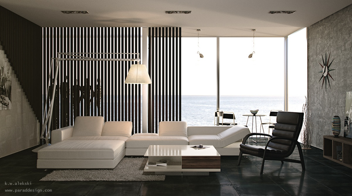 Black-white-interior-design