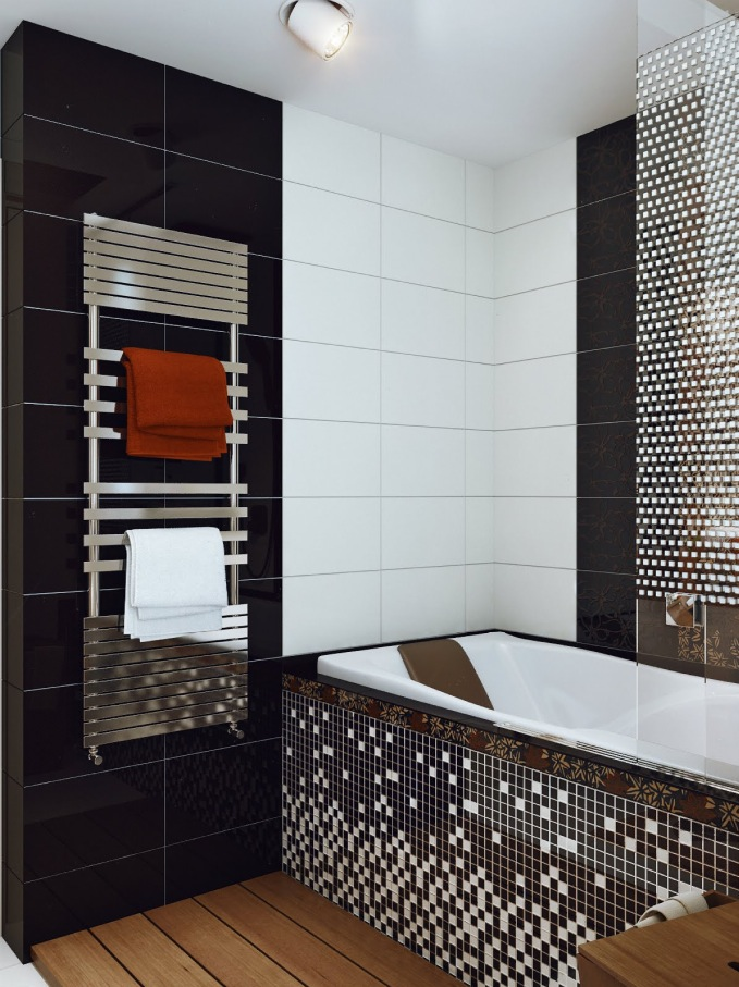 Black-white-mosaic-bathroom-tile