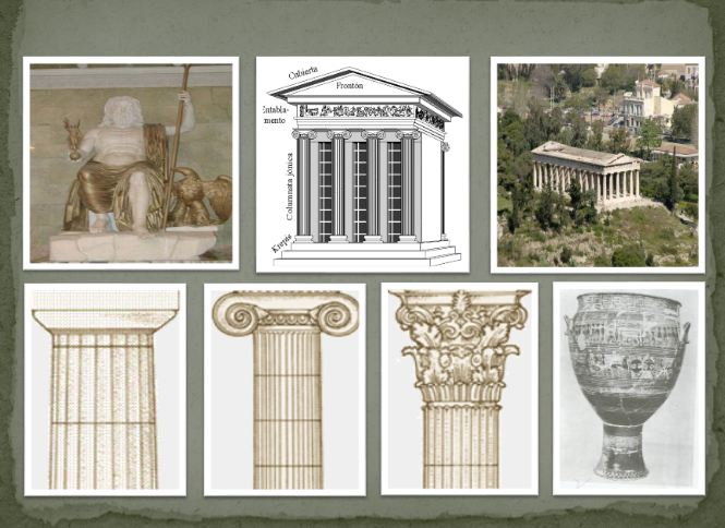 دانلود پاورپوینت هنر و معماری یونان