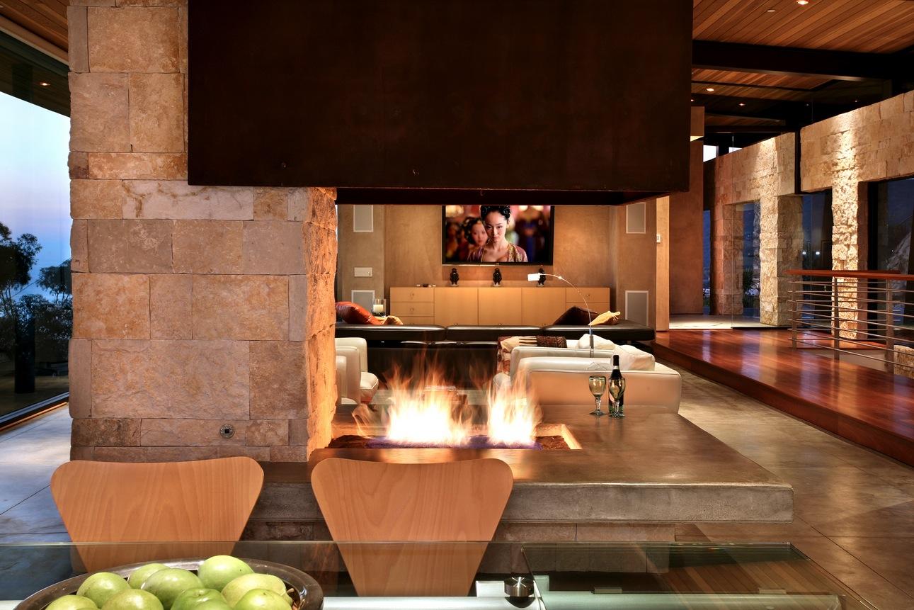 Modern-open-fireplace