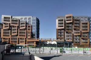 آپارتمان دانشجویی پاریس ; راهی خلاقانه برای تولید فضای بهینه