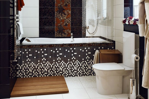 بازی با رنگ در طرح دستشویی و حمام های کوچک