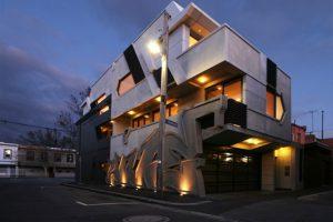 ITN Architects مجری طرح های گرافیکی بر روی دیوارهای ساختمانی در ملبورن
