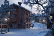 ساخت گام به گام یک صحنه زمستانی