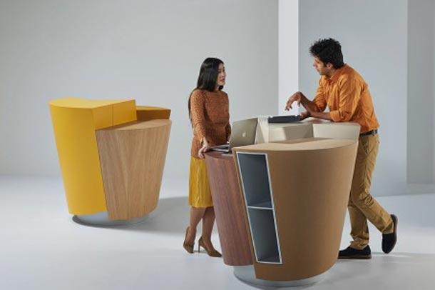 طراحی هنرمندانه Standtable توسط استودیو طراحی Unstudio