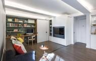 طراحی خلاقانه آپارتمان 36 متری با یک ترفند ساده