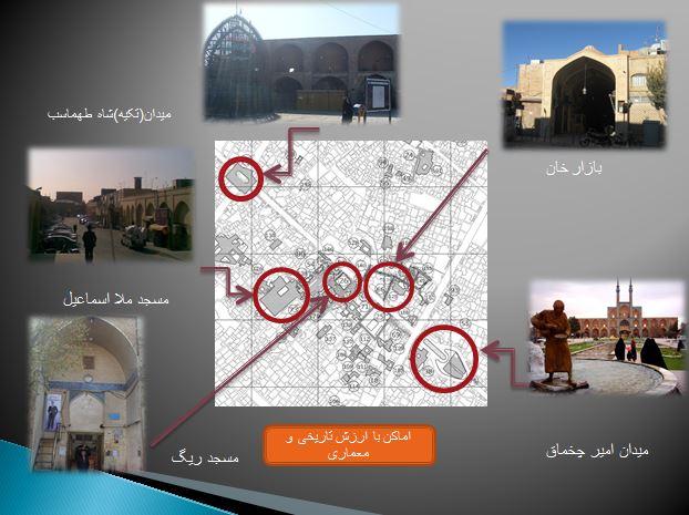 دانلود پروژه تحلیل فضای شهری مطالعه موردی خیابان قیام یزد