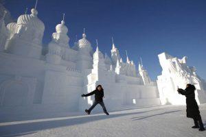 جشنواره یخ و برف Harbin ; بزرگترین فستیوال سازه های یخی در جهان