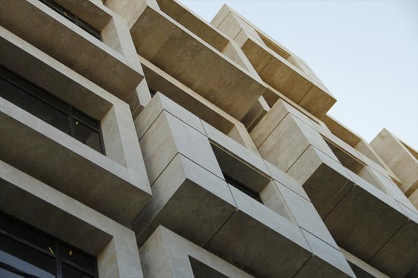 ساختمان اداری نشان ; ترکیبی منحصر به فرد از احجام