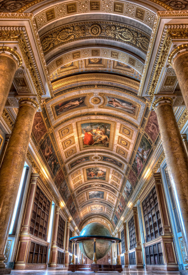 The Library, Fontainebleau
