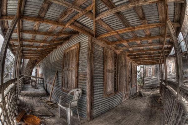 Abandonned Cabin, Johnson City