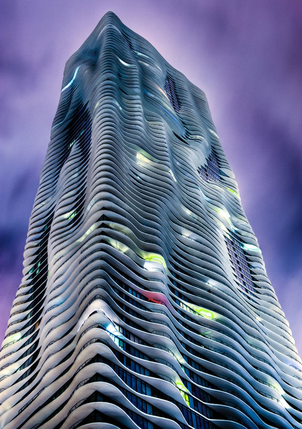 Aqua Building, Downtown Chicago